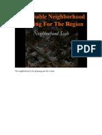 2 Neighborhood Scale Print