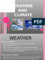 Weather and Climate II