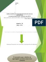 Análise econômica da terminação de bovinos de corte em confinamentosno estado de Minas Gerais