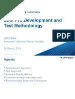 Development and Test Methodology Boeing Jeppesen JDM