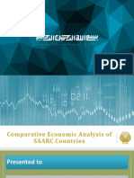 Comparative Economic Analysis of SAARC Countries