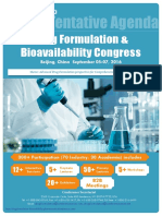 Drug Formulation Scientific Program