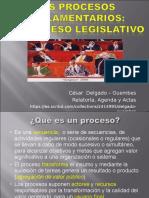 CDG - Procesos Parlamentarios - Proceso Legislativo