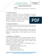 Especificaciones Tecnicas Losa Deportiva Lucanamarca