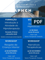 Aphch - Flyer Formações 2016