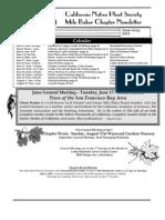 Milo Baker Chapter Newsletter, June 2003 ~ California Native Plant Society
