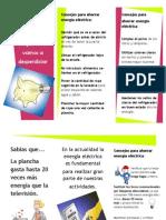 folleto ahorra energia