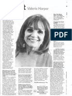 "Newsday ""Fast Chat"" - Valerie Harper"