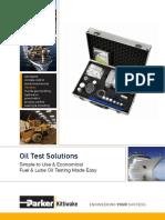 Oil Test Solutions Data Sheet