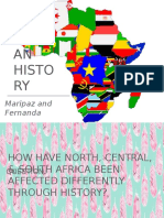 african history by fernanda and maripaz