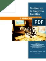 Radio Melodia - Gestion de la empresa familiar