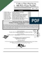 Milo Baker Chapter Newsletter, April 2003 ~ California Native Plant Society