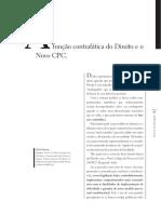 A Função Contrafática Do Direito e o Novo CPC