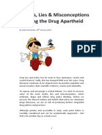 58 Myths, Lies & Misconceptions  Upholding  the Drug Apartheid