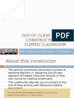 Out of Class Activity Constructor