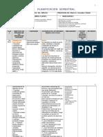 Planificación 2016 4to Básico PRIMER SEMESTRE