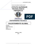 Monografia Calentamiento Global Listo