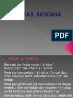 Dasar Biokimia