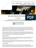 Small Arms, Human Security and Development.pdf