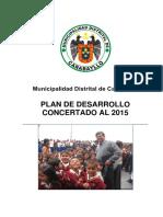 Plan Desarrollo Concertado 2015