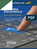 Subasta Electronica Bolivia 2016