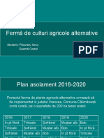 Ferma Culturi Agricole Alternative
