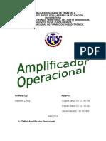 Amplificador Operacional..docx
