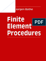 Finite Element Procedures -Bathe