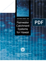 Guidelines on Rainwater Catchment Systems for Hawaii