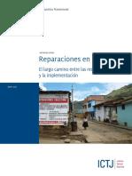 ICTJ Report Peru Reparations Spanish 2013