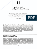 11 Walras and General Equilibrium Theory