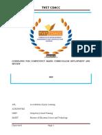 Cbet Curriculum Regulations (1)