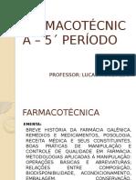 FARMACOTÉCNICA 2016