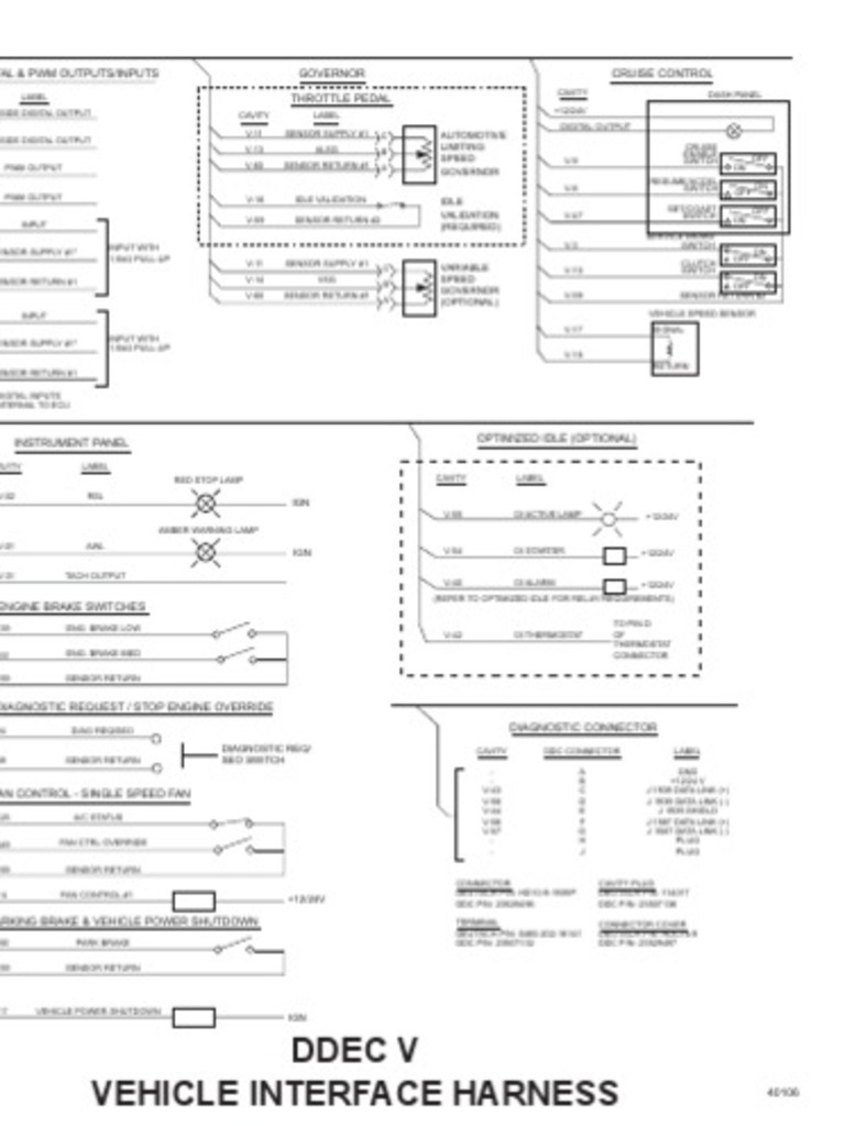 Detroit Ddec V Wiring Diagram Electrical House Diesel Schematics Schematic Data Diagrams U2022 Rh Naopak Co Vi