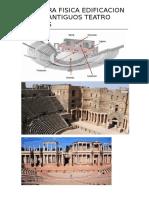 Estrucra Fisica Edificacion de Los Antiguos Teatro Griegos
