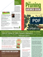 The Pruning Answer Book Brochure