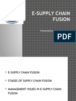 E-supply Chain Fusion