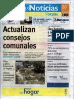 Últimas Noticias Vargas  lunes 20 de junio de  2016