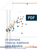 Tableau Data Blending