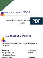 Formatação ABNT No Word