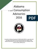 Alabama Fish Advisory Update 2016