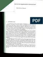 Pedro Burgos ¿Qué es una Organización Internacional?