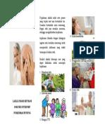 Leaflet Mencegah Kepikunan (LIS)