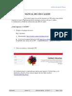 Manual de Uso Del Portal CALEDU