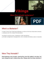 were the vikings actually barbarians-