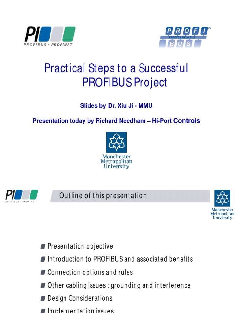 Steps to a successful profibus project | Cable | Automation