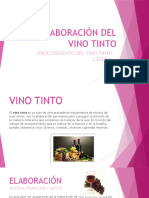 Elaboración Del Vino Tinto