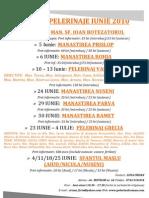 (Pelerinul Roman) Agenda Iunie 2010 (Color)