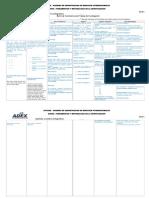 Estructura de Matriz de Consistencia Completa