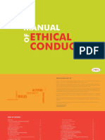Manual of Ethical Conduct